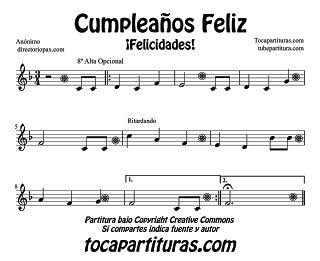 Cumpleaños Feliz  - Happy Birthday