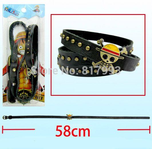 Оптовая продажа одна часть 58 см длинные браслеты 5 шт./лот 3 кругов на запястье мужчины женщины панк ювелирные изделия редкие аниме коллекции