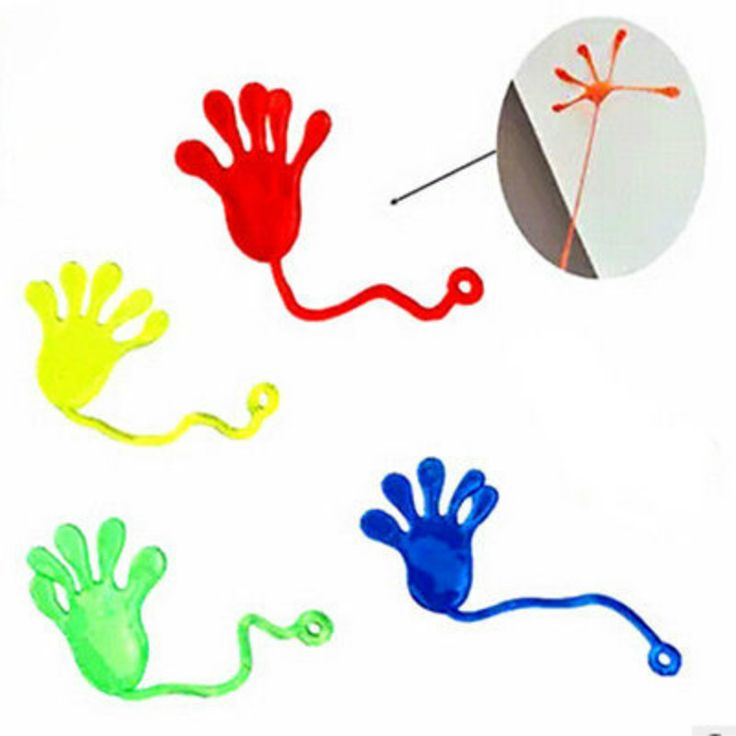 SEBS plastic Elastic Sticky Squishy Slap Hands Palm Toy Children Kid Party Favors Gift Unisex No Battery #Affiliate