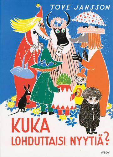 1960 Kuka lohduttaisi Nyytiä? on toinen kuvakirja Muumi-sarjassa. Yksinäinen Nyyti lähtee kotoa löytääkseen ystäviä, tapaa Tuitun ja pelastaa hänet Haisulilta.