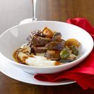 Braised Beef with Cipollini Onions, Shiitakes and Olives Recipe on williams-sonoma.com