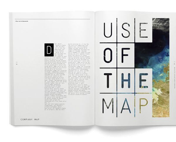 use of the map: Negative Spaces, Prints Design, Layout Design, Graphics Design, Magazines Layout, Editorial Design, Visual Journals, Design Layout, Prints Layout