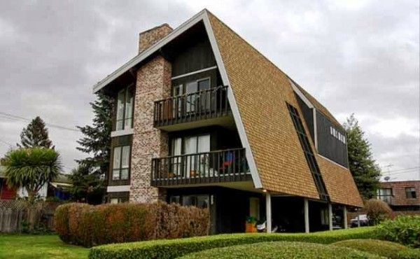 Contoh Atap Rumah Miring