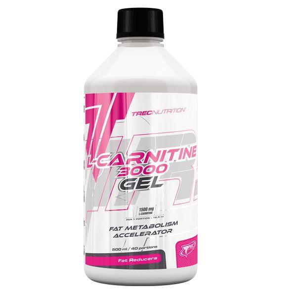 L-CARNITINE 3000 GEL: Skoncentrowana L-karnityna w płynie   Wspomaga metabolizm lipidów Zwiększa produkcję energii Wysoka dawka płynnej L-karnityny