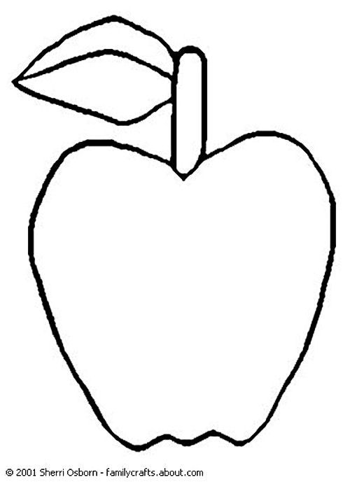 9 Heart Tastic Crafts For Kids Apple ColoringApple