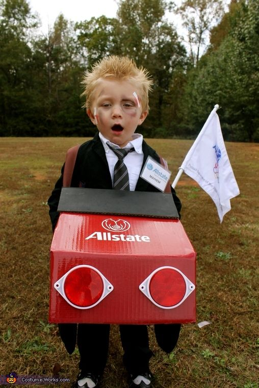Mayhem, the Allstate Guy - 2014 Halloween Costume Contest via @costume_works