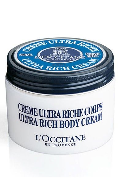 L'Occitane Shea Butter Ultra-Rich Body Cream  | *Disclosure: This is an affiliate link. This means that if you purchase an item or items through this link, you won't pay a penny more, but we will earn a commission for the influence of the sale.