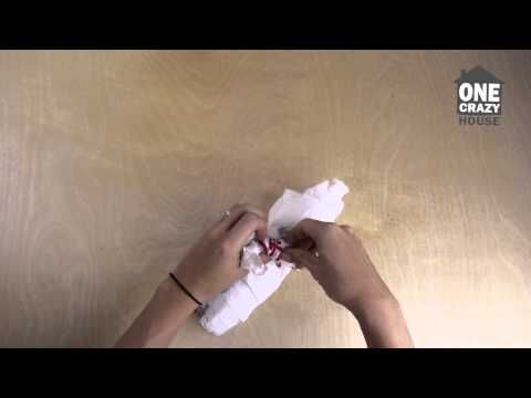 Life Hack: How to Store Plastic Bags - YouTube