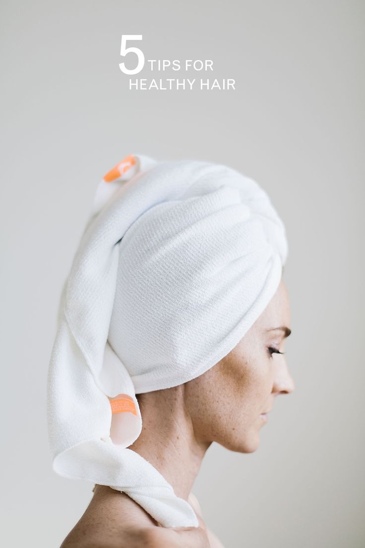 1 Invest In A Hair Towel Decreasing Frizz Starts With How You Dry Your