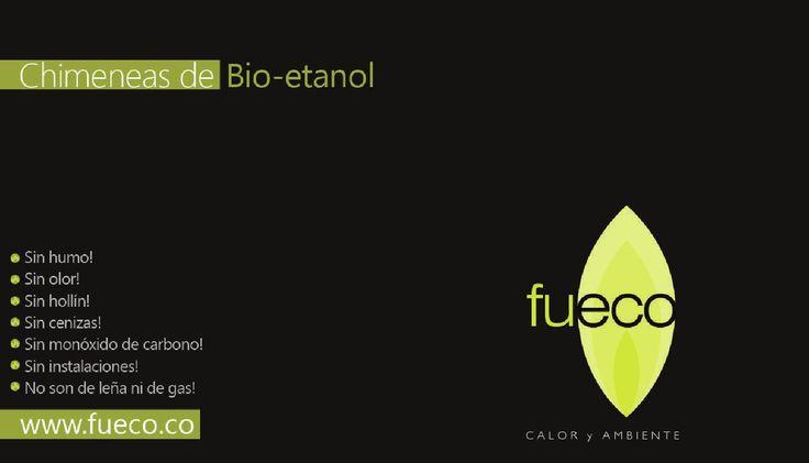 Brochure Chimeneas y quemadores #FUECO