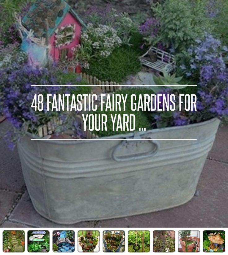 Cute #fairy garden [ more at http://allwomenstalk.com ]