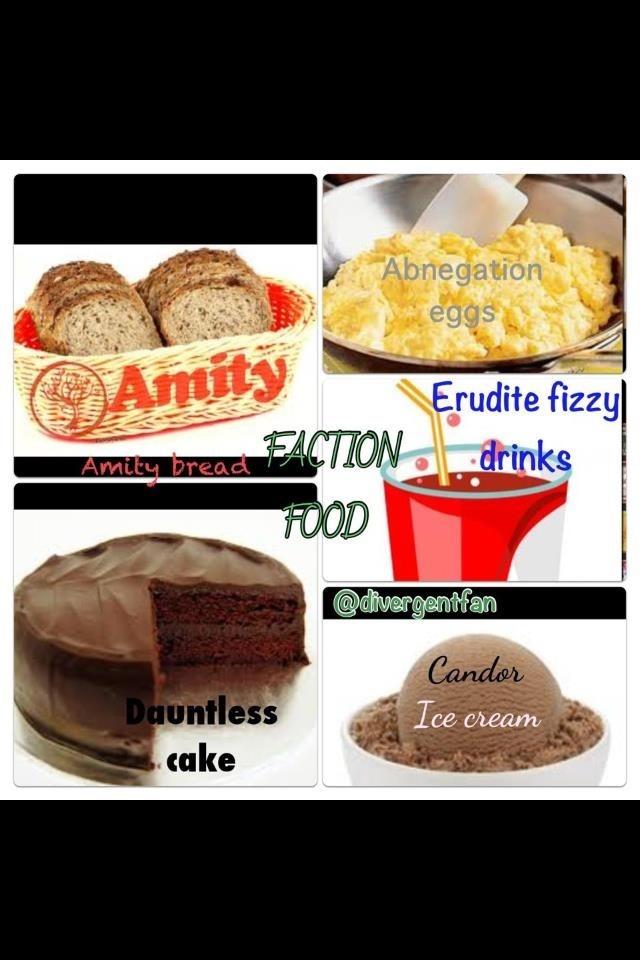 I CHOOSE DAUNTLESS CAKE BUT ERUDITE EVERYTHING ELSE