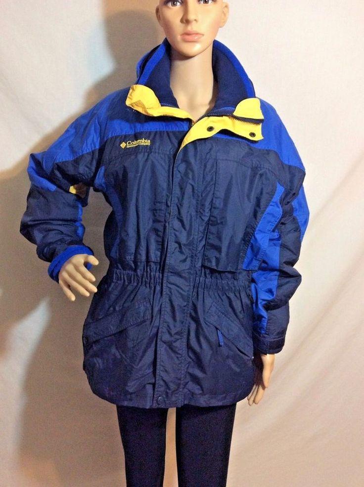 Columbia Sportswear Interchange Ski Jacket Coat Women's Size 18/20 RN 69724
