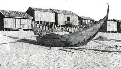 """Portugal, Praia da Tocha - Foto extraída do livro """"Praia da Tocha -Palheiros da Tocha"""" de Alice Andrade."""