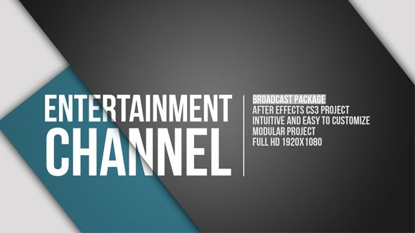 Entertainment Channel Broadcast Package