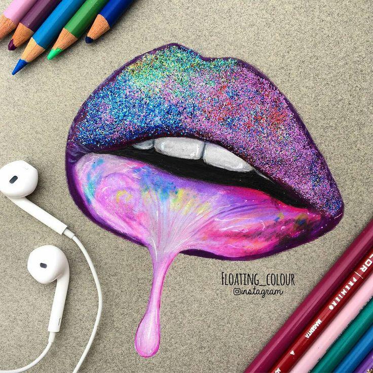 die besten 20 lippen zeichnen ideen auf pinterest