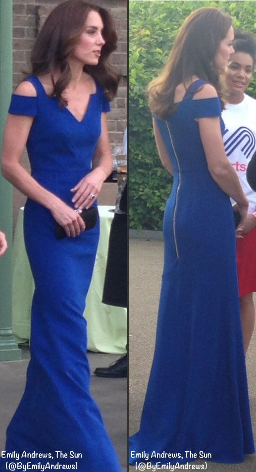 SportsAid's 40th Anniversary Gala Dinner at Kensington Palace on June 9, 2016.  Emily Andrews, The Sun (@ByEmilyAndrews)