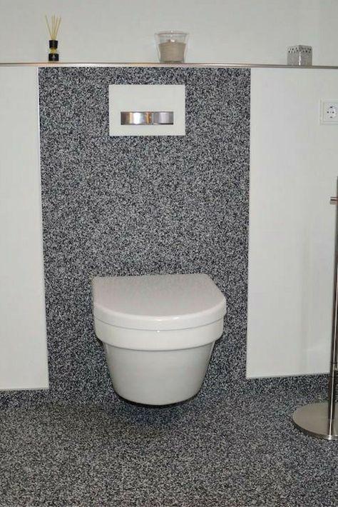 Superior Fugenloses Design Auch Im Bad, Sauber Und Fußwarm, Leicht Zu Reinigen # Steinteppich #
