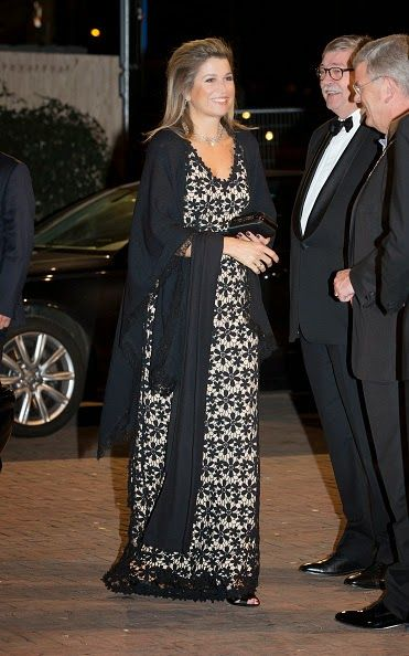 Queen Maxima of The Netherlands arrives for the 10th International Frans Liszt Piano Competition on 08.11.2014 in Utrecht, The Netherlands.