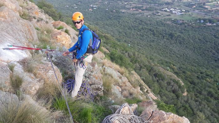 Abseil from the top of the Magaliesberg Mountain Range where the ride up is as much fun - Harties Cableway