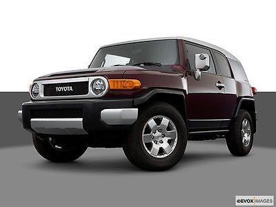 SUVs: 2007 Toyota Fj Cruiser Base 4Dr Suv (4L V6 5A) 2007 Toyota Fj Cruiser 2Wd Auto Navigation Bluetooth Xm New Tires Fl Owned Nice! -> BUY IT NOW ONLY: $2550 on eBay!