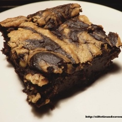 Peanut Butter Swirl Brownies (Vegan, Gluten & Grain Free, Sugar Free)