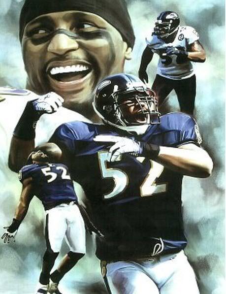 Ray Lewis Baltimore Ravens montage