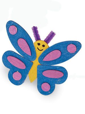 Butterfly Crafts For Kids To Make