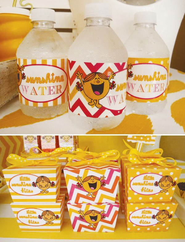 – Favors: Target (for most of the Mr. Men items)