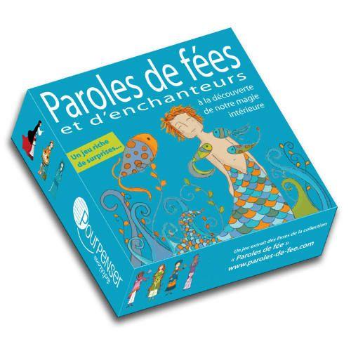 jeu de cartes Jeu Paroles de fées et d'enchanteurs illustré par Alinne de Pétigny