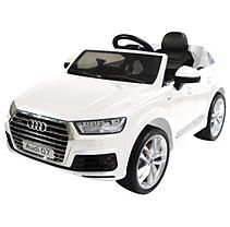 Audi Q7 One-Seater 6-Volt Powered Ride-On (White)