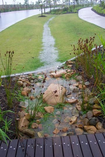 Biofilter application, Coomera Waters QLD, Australia. Visit the slowottawa.ca boards >> http://www.pinterest.com/slowottawa/