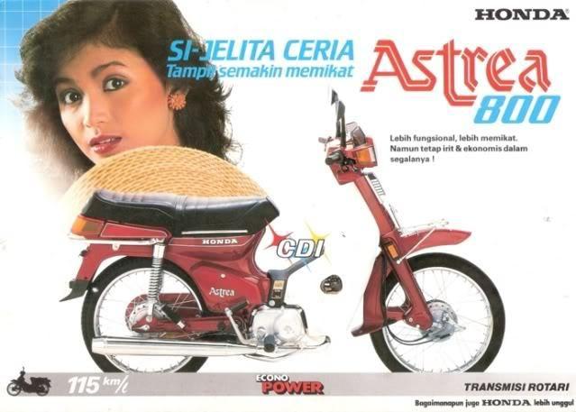 Vintage Bike Commercial (Indonesia) lol