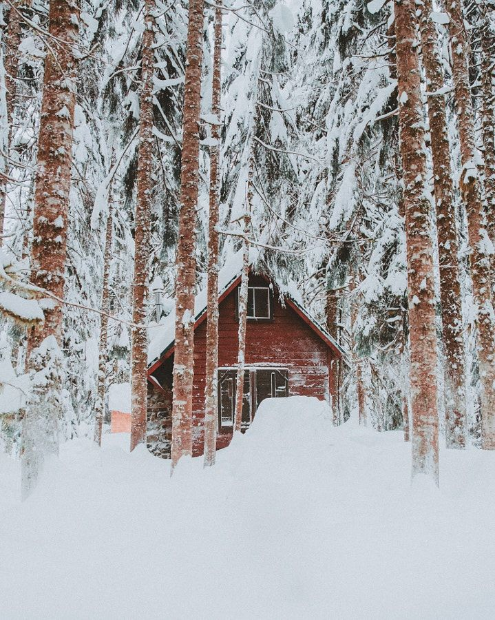 It has been a good and cold winter in the Northwest. by Berty Mandagie - Photo 191418005 / 500px Pacific North West, U.S.A.
