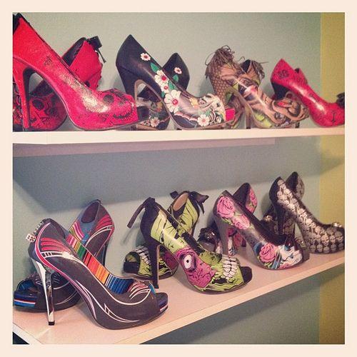 Iron fist heel collection :)