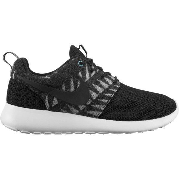 Nike N7 Roshe Run Women's Shoe ($85) ❤ liked on Polyvore featuring shoes, athletic shoes, sneakers, nike, light weight shoes, patterned shoes, lightweight shoes, print shoes and grip shoes