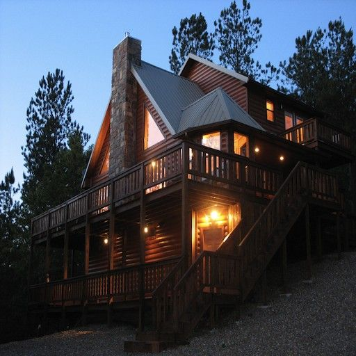 Luxury Lake Homes On Mountain: Broken Bow Lake Luxury Vacation Beavers Bend Cabins