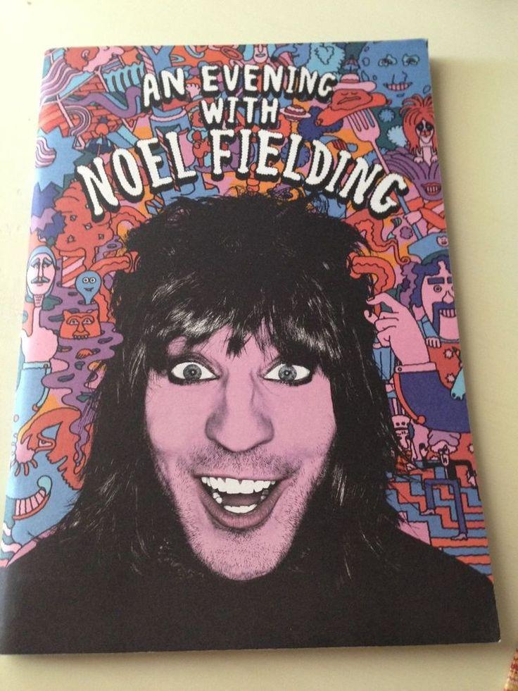 An Evening with Noel Fielding Souvenir Programme & 6 Souvenir Pinbacks 2016 Tour