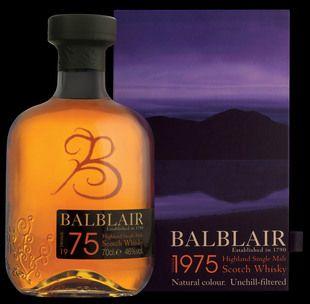 Balblair 1975 from Whisky Please.