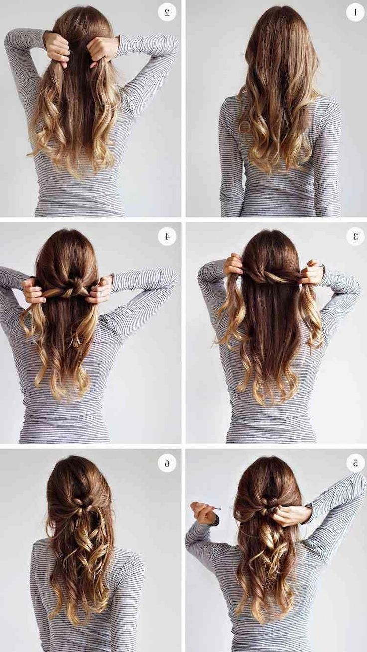 Best Of Easy Open Hairstyle 11 in 11  Long hair styles, Hair