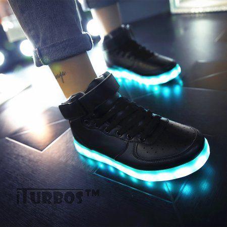 iTURBOS SuperNova+ Hover Light Up Shoes - Light Up LED Shoes for Kids - 7  Static