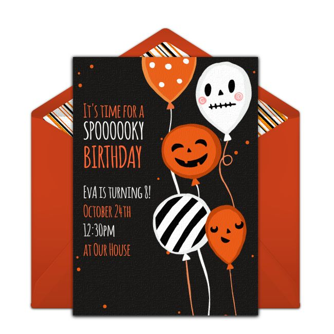 217 best Free Party Invitations images – Free E Invites for Birthday