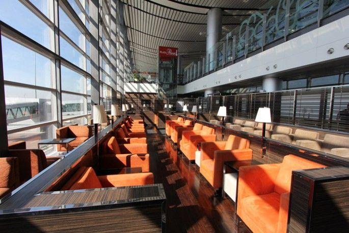 #PlazaPremium Lounge International Departures, Hyderabad Rajiv #Gandhi International Airport, #India