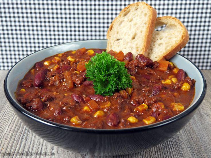 OMG, hört sich das fantastisch an: veganes Chili sin Carne (mit Zartbitterschokolade) bei Björn