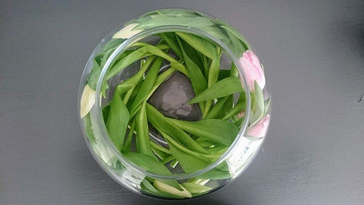 5 smukke ideer med 1 bundt tulipaner! Tulips