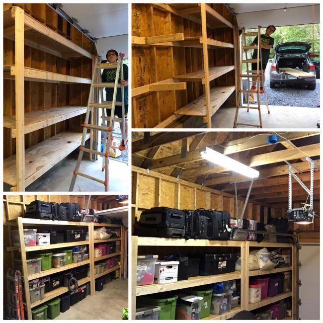 Diy Garage Storage Ideas Projects: DIY Garage Storage Favorite Plans