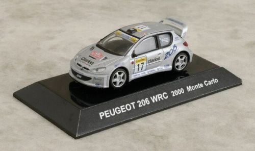New 1/64 New CMS RALLY Car SS. 8.5 Peugeot 206 WRC 2000 Monte Carlo