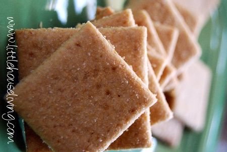 Homemade Wheat Crackers - Little House on the Prairie Living