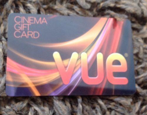 Vue gift card
