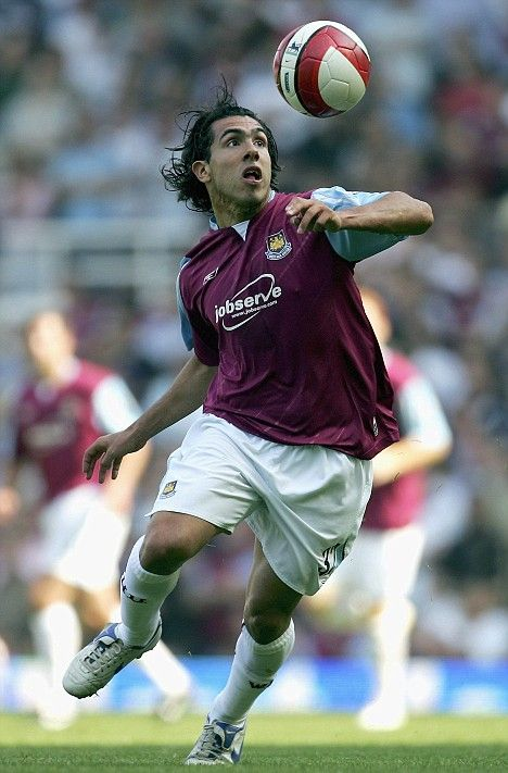 ~ Carlos Tevez on West Ham ~ will never forget this man in a Claret and Blue shirt